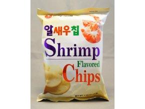 Nong Shim Shrimp Flavoured Chips 45g