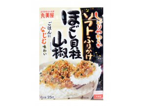 Marumiya Soft Furikake Hogushi Kaibashira Sansho 25g