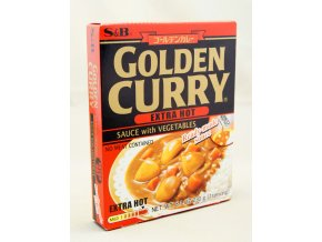 S&B Golden Curry Extra Hot Ready-made Sauce
