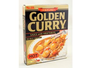 S&B Golden Curry Hot Ready-made Sauce