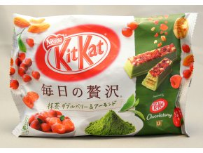 KitKat Mainichi no Zeitaku Matcha Double Berry and Almond 109g