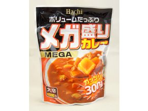 Hachi Curry Mega Hot - pálivost č. 5 300g