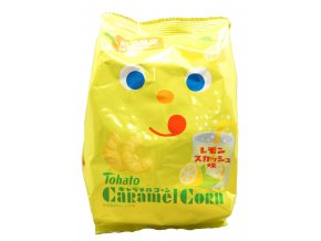 Tohato Caramel Corn Lemon soda 77g