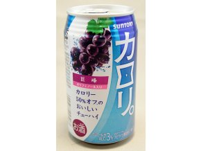 Suntory Calory Grape 3% alkohol 250ml