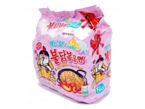 SamYang Hot Chicken Ramen Carbo 5p