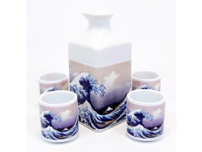 Fuji keramický set na Sake