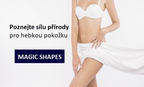 Dvojbalení JARED Zpevňující tělový gel MAGIC SHAPES 2×200 ml - denní a noční