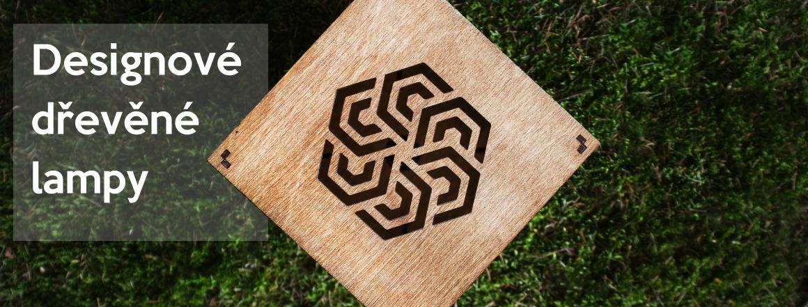 Designové stolní lampy ze dřeva