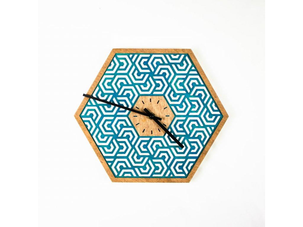 nástěnné hodiny Poseidon