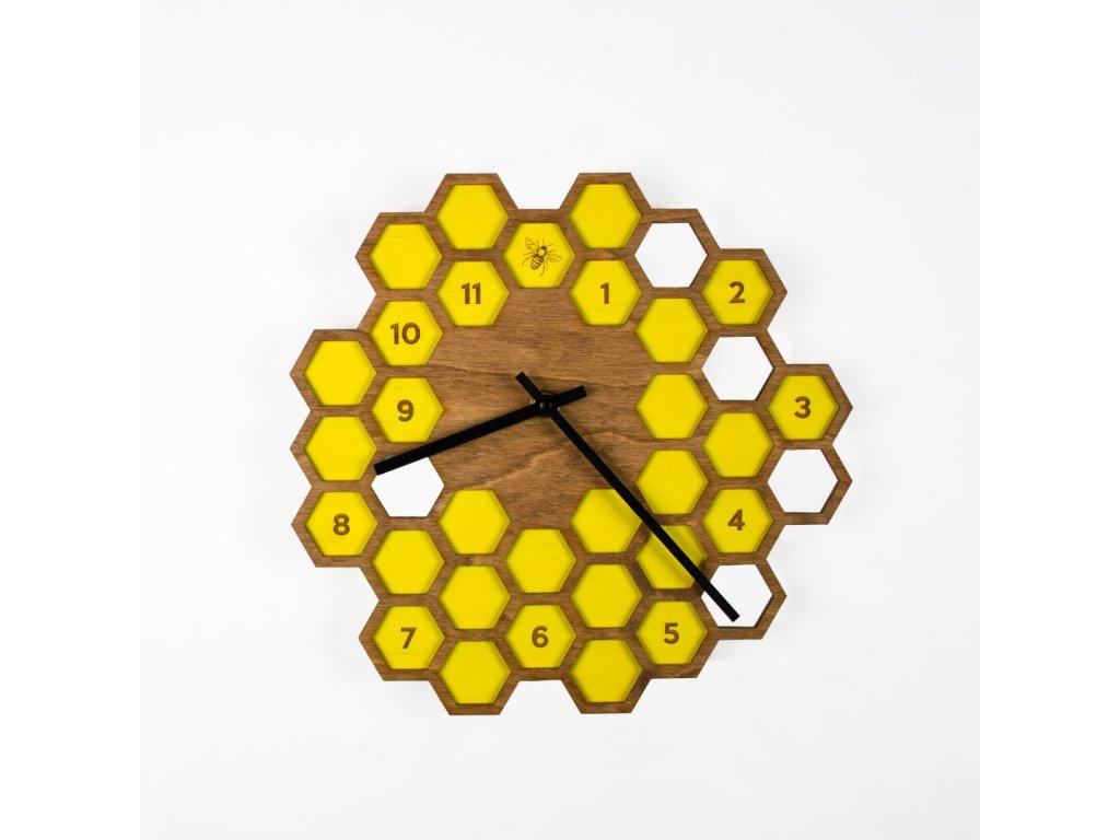 nástěnné hodiny Včelín