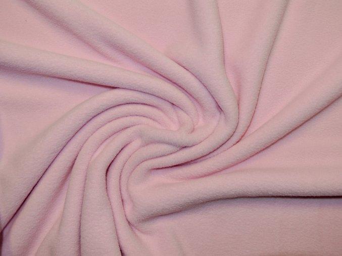 Fleece světle růžový 240g