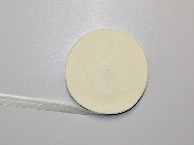 Pruženka lemovací 19 mm krémová