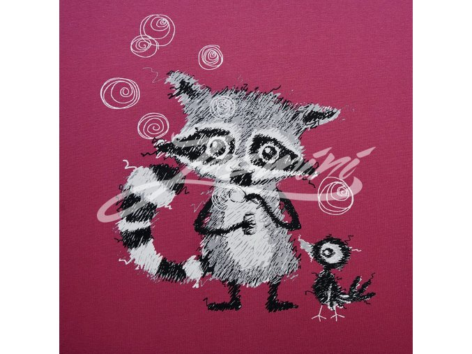 biojersey racoons panel holunder