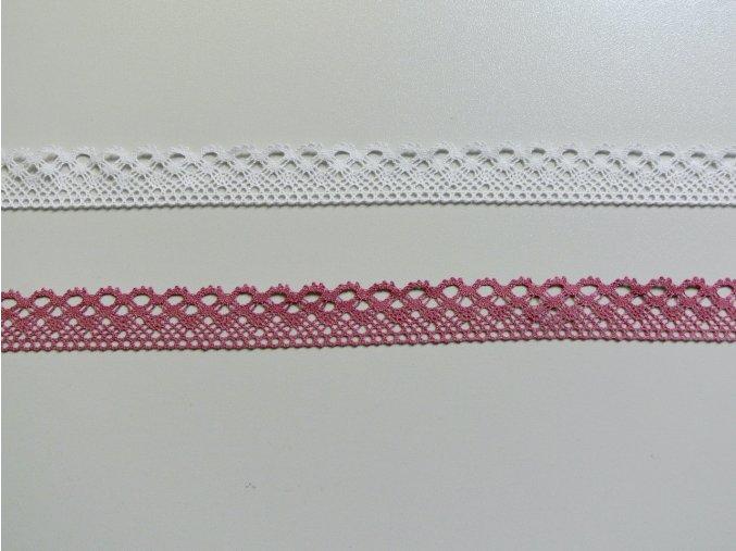 Bavlněná krajka paličkovaná 21mm