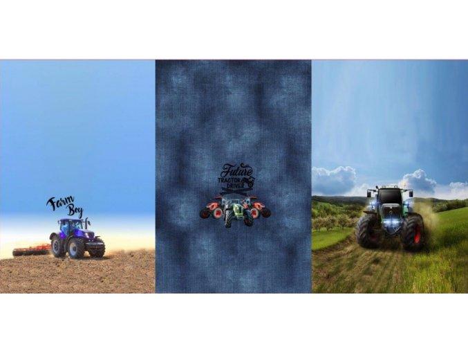 traktor panel