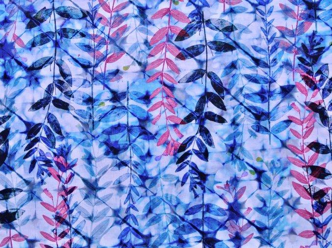Viskozový úplet větvičky akvarel (digitisk)