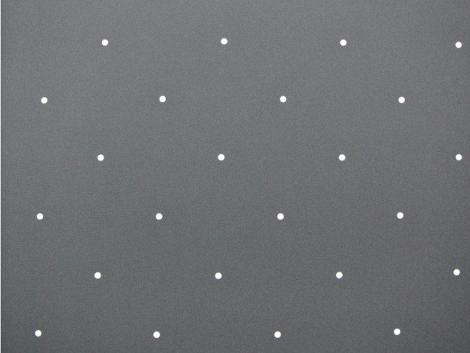 Softshell zimní šedý s bílými puntíky