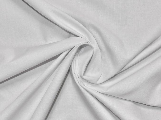 Plátno bílé (lehký lesk) - zbytek