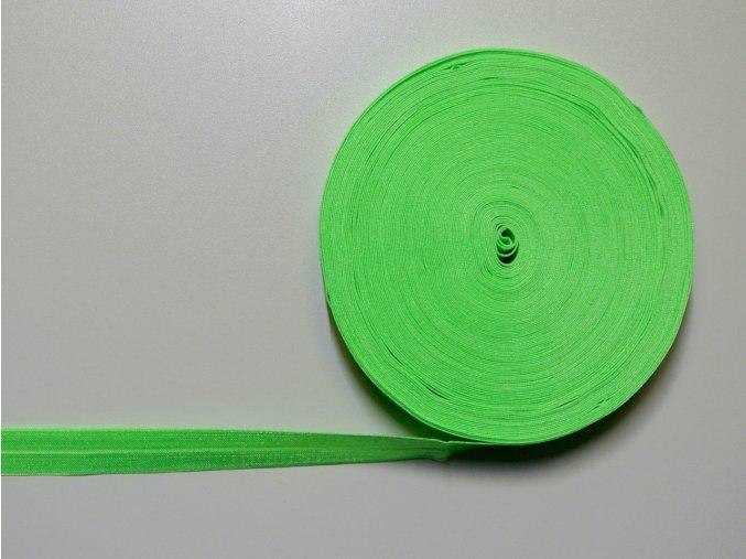 Pruženka lemovací 20mm neon zelená