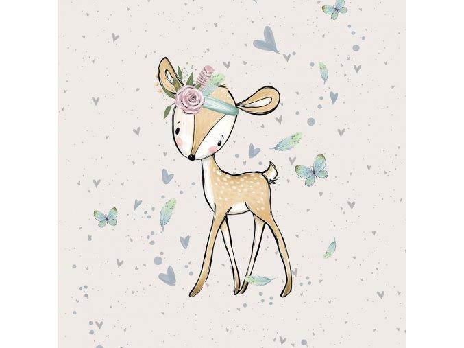 FT panel forest adventures deer