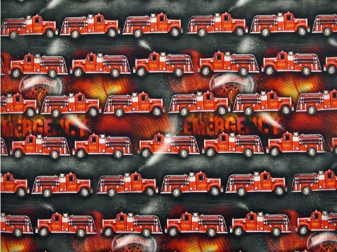 Elastická teplákovina hasiči (digitisk)