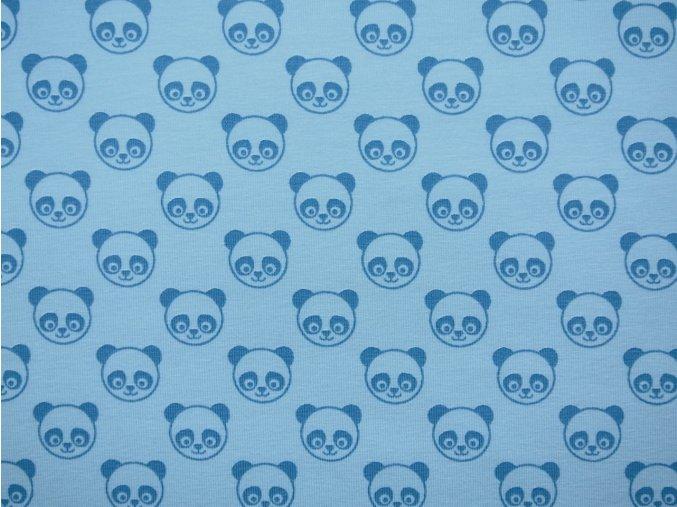 Elastický úplet pandy tyrkysové (zbytek)