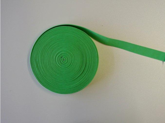 Pruženka plochá 21mm zelená