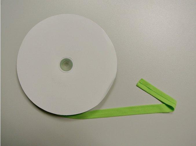 Lemovací proužek elastický zelený