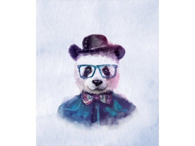 mr panda panel 42 x 50 cm
