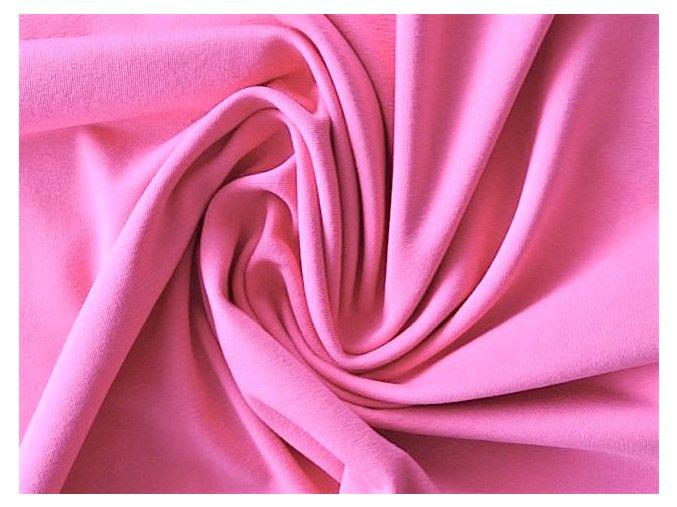 Elastický úplet středně růžový 200 g