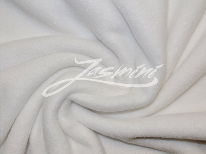 Fleece bílý 240g