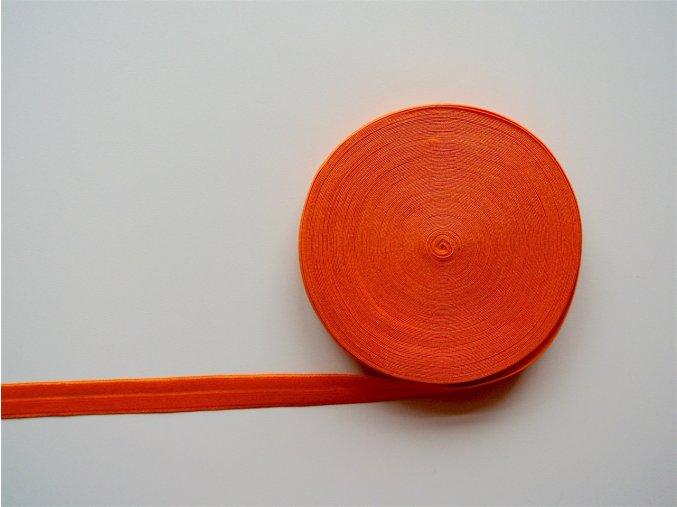 Pruženka lemovací 19 mm oranžová