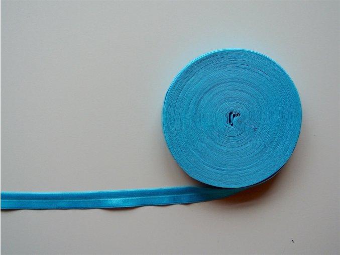 Pruženka lemovací 19 mm tyrkys