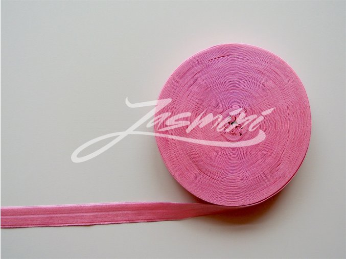 Pruženka lemovací 19 mm světlá růžová