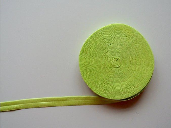 Pruženka lemovací 19 mm jarní zelená