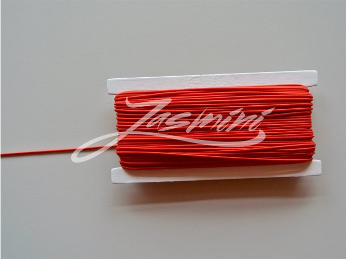 Guma klobouková červená 1,2mm