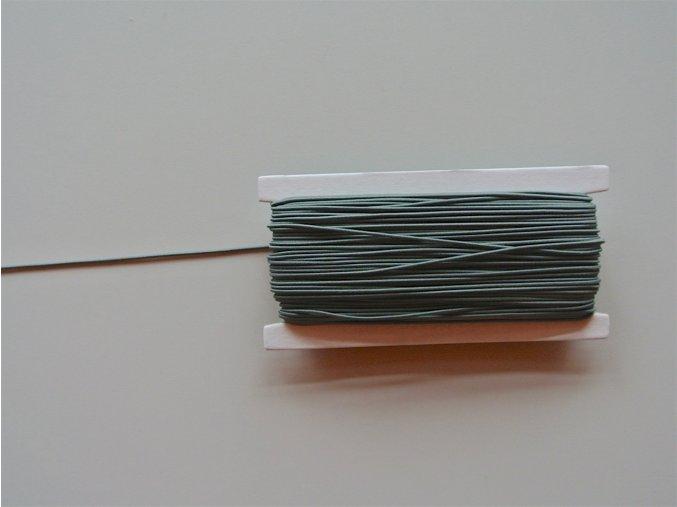Guma klobouková šedá 1,2mm
