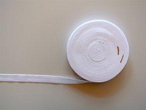 Pruženka lemovací 19 mm bílá