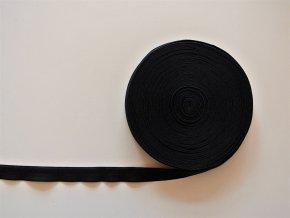 Pruženka lemovací 19 mm černá