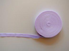 Pruženka lemovací 19 mm světle fialová