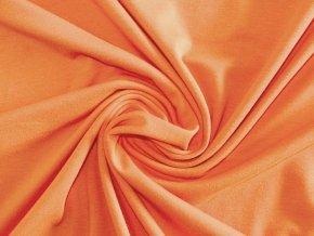 Elastický úplet oranžový 200 g (zbytek S VADOU)