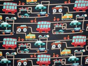 Elastický úplet doprava ve městě