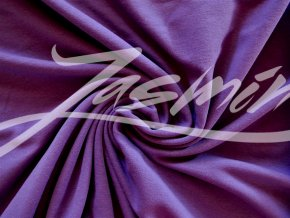 Elastická teplákovina fialová 290g