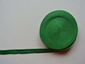 Pruženka lemovací 19 mm zelená