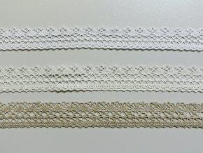 Bavlněná krajka paličkovaná 27mm