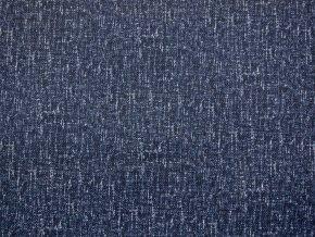 Softshell zimní vzhled pletenina tmavě modrá