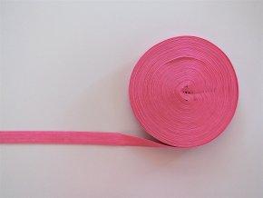 Pruženka lemovací 19mm středně růžová