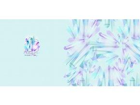 Elastický úplet krystaly (panel)