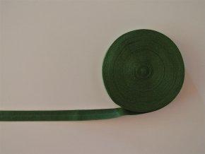 Pruženka lemovací 19 mm tmavě zelená