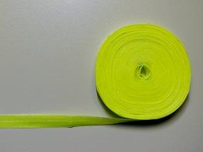 Pruženka lemovací 20mm neon žlutá